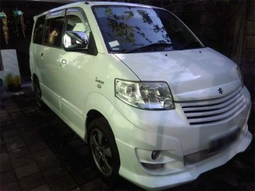APV LUXURY WHITE   Rent A Car  Bali