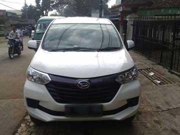 Xenia 2016 putih   Sewa Mobil  Bandung