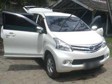 Avanza putih 2014   Sewa Mobil  Bandung