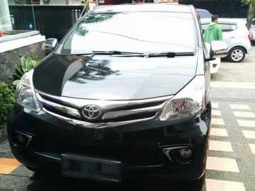 avanza hitam 2014  Rental Mobil  Bandung