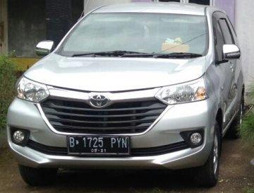 Toyota Avanza Silver 2016  Rental Mobil  Depok