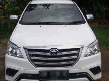 INNOVA 2015 PUTIH   Rent Car  Lombok