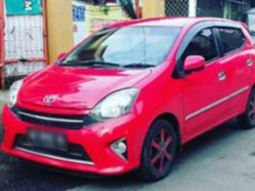 Agya Red Matic   Rent A Car  Solo