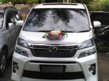 Wedding Car 3 Putih   Sewa Mobil  Jakarta