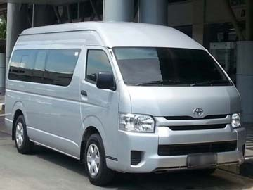 Hiace Commuter 2016  Rent Car  Batam