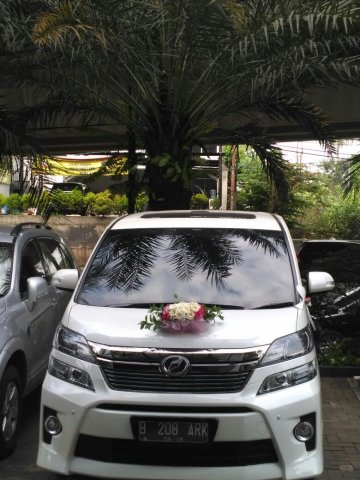 Wedding Car 3 Putih   Rent A Car  Jakarta