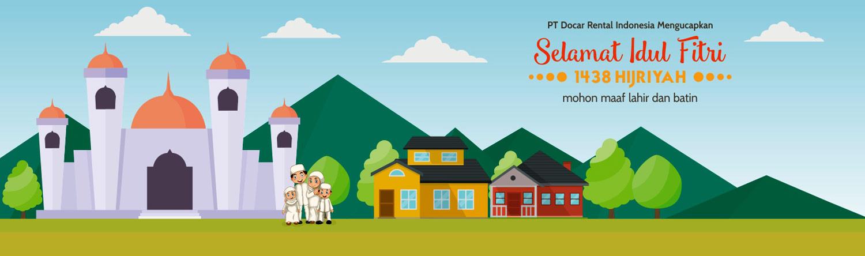 PT Docar Rental Indonesia mengucapkan selamat Idul Fitri 1438 H