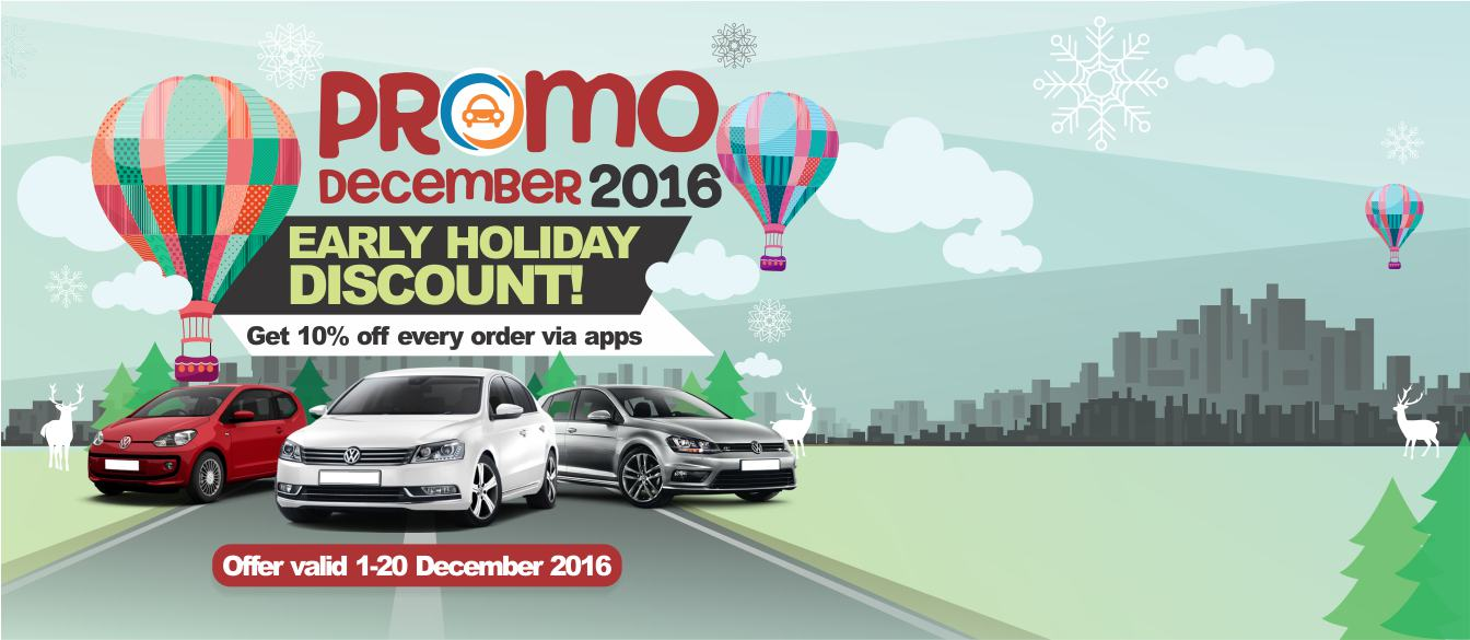 Promo Sewa Mobil DOcar Desember 2016